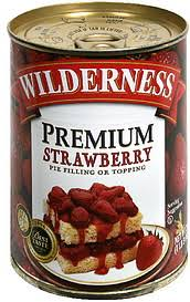 Wilderness Strawberry Pie Filling or Topping