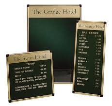 Poster And Menu Displays Signtech