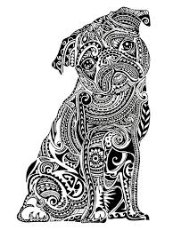 Get The Coloring Page Pug