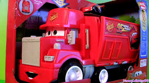 100 Lightning Mcqueen Truck Wheelies Cars Mack Hauler Radiator Springs Playset Pixar