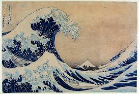 Woodblock Print Thirty Six Views Of Mount Fuji The Great Wave Off