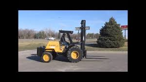100 Mastercraft Truck Equipment 1997 Scrambler S8PFW7 Rough Terrain Forklift Sold At