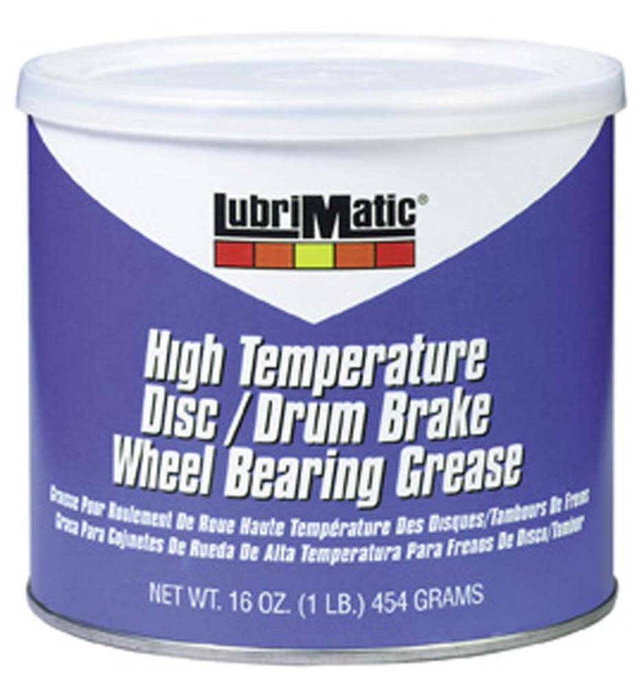 Lubrimatic High Temperature Wheel Bearing Grease - 454g