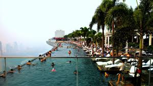 100 Infinity Swimming Marina Bay Sands SkyPark Pool Singapore