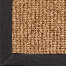 Wool Sisal W Cotton Twill Binding Rug