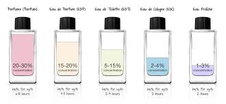 duty free perfumes what is the difference between edt edp and