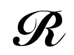 Elegant Cool Letter R Designs Letter R Alphabet Design Class Final