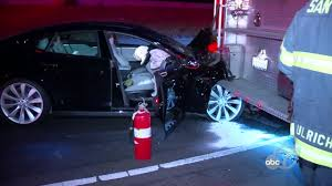 Tesla Collides With Fire Truck In San Jose, Leaving 2 Hurt ... Antique Fire Truck Crashes Into West Toledo Tattoo Studio The Blade Injuries After Farmersville Dairy Queen Semi Smiths Grove Fire Sends One To Hospital Palmetto Expressway Reopens After Driver Killed Following Crash With Truck Crashes Into Farmersville Dairy Queen Cbs Dallas Fort Police Woman Steals Snake Car New Hyde Park Firehouse Engine En Route Brush With Lands In Miami Ambulance Collision Youtube Driver On Rm 620 Causing Massive Delays Wednesday Airport Accident Politicsbm Wrongful Death Trial Begins Fatal Bethlehem Accident Va Injury Lawyers Slams Norfolk