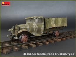 1,5 Ton Railroad Truck AA Type MiniArt 35265