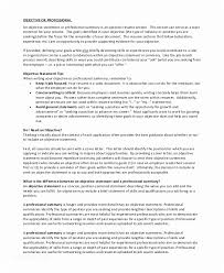 General Resume Objectives Labor Examples