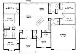 Lovely Design 5 Bedroom Floor Plans