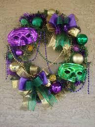 Burlap Mardi Gras Door Decorations by 148 Best Wreaths Mardi Gras Images On Pinterest Mardi Gras