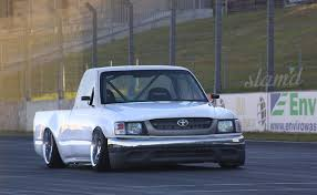 100 Toyota Drift Truck 2001 Hilux Tacoma Pickup Lowrider Drift Custom Tuning Race