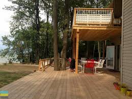 2 Level Cedar Deck At A Cottage - M.E. Contracting | Toronto ... Backyard Multi Level Paver Patio Steps Le Flickr Interlock Natural Stone Landscaping Minnesota Patios Southview Design 25 Beautiful Leveling Yard Ideas On Pinterest How To Level Creating A Meant Building Retaing Wall Behind Ideas Charcoal Slate Stones With Pea Stone Gravel Bethesda 365 Home Sales In Pool Ground And Setup 2014 Home Deck Foyer Garage Split Creative For Urban Outdoor Spaces Image Trending Sloped Backyard Sloping Modular Block Rhapes Also Back