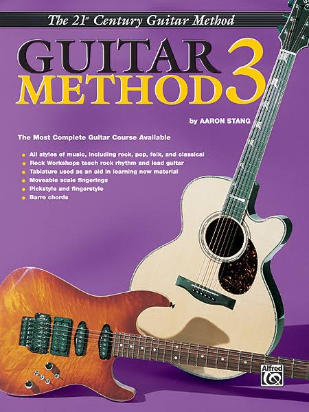 Alfred 00-EL03844 21st Century Guitar Method 3 Music Book - Volume 3