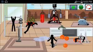 stickman death gym 2 level 3 walkthrough youtube