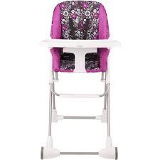 100 Kangaroo High Chair Evenflo Symmetry Flat Fold Hayden Dot Walmartcom