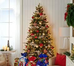 Qvc Christmas Tree Storage Bag by Bethlehem Lights 7 5 U0027 Heritage Spruce Christmas Tree W Instant