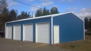 overhang options for pole buildings portland oregon locke buildings