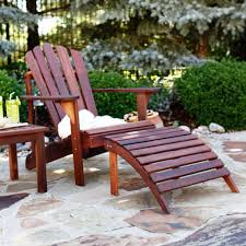 Gloster Outdoor Furniture Australia by Furniture Teak Wood Outdoor Adirondack Chair In The Backyard