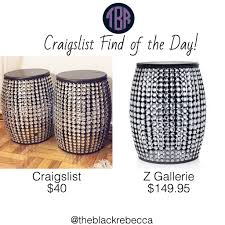 Craigslist Find of the Day Z Gallerie Brilliant Stools – The