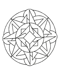 Full Image For Mandala Coloring Pages Free Online Page Mandalas