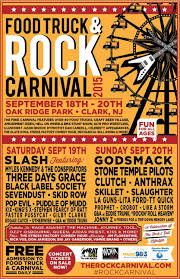 Food Truck And Rock Carnival: Day 1 – Live In Clark, NJ | Ghost Cult ...