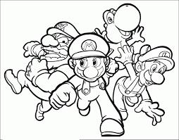 Coloriages Mario Bros 1 Coloriage Super Mario Coloriages Pour