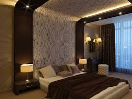 Delighful Bedroom Decor Brown Color Combo Of Blue And Gold S
