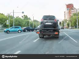 100 Tow Truck Accident Car Tow Truck And Car Accident Stock Photo Apriori 160706988