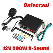 9-Sound Speaker MIC System 12V 200W Loud Car Truck Warning For ... Big Discount Outdoor Food Van Truck Pa System 40w Outdoor Use How To Install A Pa System In Your Vehicle 2011 F250 Powerstroke Speakers Speaker Systems Car 100w 12v 4 Oput Loudspeaker Antique Club Of Americas 38th National Meet In Macungie Pa Horn Blasters For My Future Pinterest Wolo Mfg Corp Emergency Vehicle Sirens New 2018 Ford F150 For Sale Lemoyne Near Harrisburg Used Gmc Sierra 2500hd Vehicles Forest City 115db Loud Air Siren Boat 7 Sounds 12v Alarm Police Fire Mic Larath 1 Set Auto 200w 8 Sound