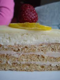 Daring Bakers Challenge Raspberry Lemon Opera Cake