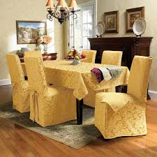 Parson Chair With Floral Walmart Slipcovers Plus Area Rug And Wooden Floor For Dining Room Decoration