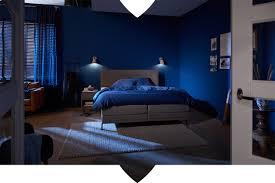 inspiration ein ton sur ton schlafzimmer in blau