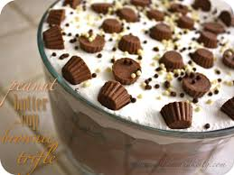 Pumpkin Mousse Brownie Trifle by Meet The Sullivans Recipe Peanut Butter Cup Trifle