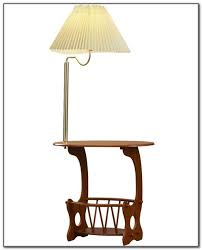 Floor Lamp With Attached End Table by Contemporary Floor Lamp With Table Attached Lamps Home