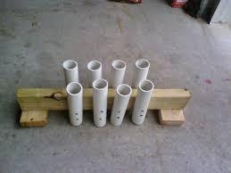 100 Rod Racks For Trucks PVC Fishing Holder 8 Steps