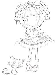 Lalaloopsy Coloring Pages Website Inspiration Books Web Art Gallery