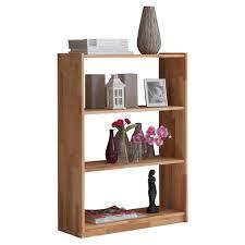 mid you standregal buche massiv buchefarben 810007 simon holz 2 fächer 80x111x31 cm geölt echtholz in verschiedenen größen erhältlich
