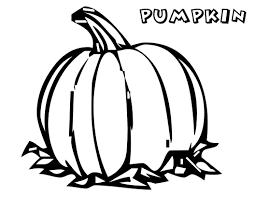 Coloring Page Pumpkin Sheet Halloween