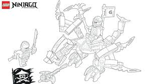 Kai Zx Coloring Pages S Lego Ninjago