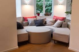 maßsofa für altbau erker modern living room munich