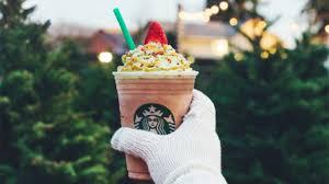 Starbucks Christmas Tree Frappuccino Taste Test