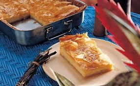 galaktoboureko griechischer vanillecreme kuchen