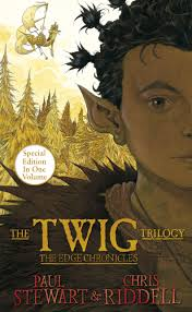 The Twig Trilogy Edge Chronicles 1 3 Includes Beyond Deepwoods Stormchaser Midnight Over Sanctaphrax Paul Stewart Chris Riddell 9780385613453
