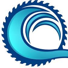 Waves tidal wave clip art