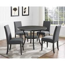 Biony Espresso Wood Dining Set With Fabric Nailhead Chairs (Grey ... Office Star Tuxedo Conference Table Mad Man Mund Offices To Go Alba R8ws Conference Table Glbr8wsdesmetun Small Bullet L Desk Espresso 12 Foot Solispatio Ligna Rectangular Set Reviews Wayfair Unique Fniture Cuba Ding Mayline Sorrento 8 Sc8esp Generation By Knoll Ergonomic Chair Amazoncom Gof 10 Ft 120w X 48d 295h Cherry Skill Halcon