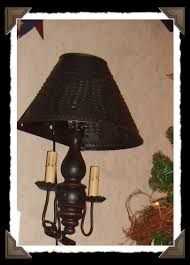 Large Punched Tin Lamp Shades by Lighting