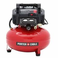 Porter Cable 6 Gal 150 PSI Portable Electric Pancake Air