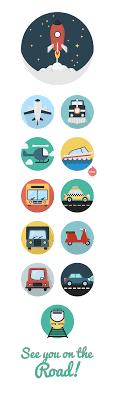 Transportation Icons   Creative Tail